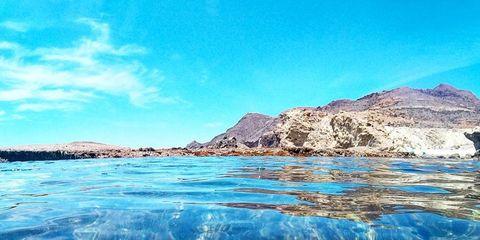 Rutas para paseo en barco en Cabo de Gata