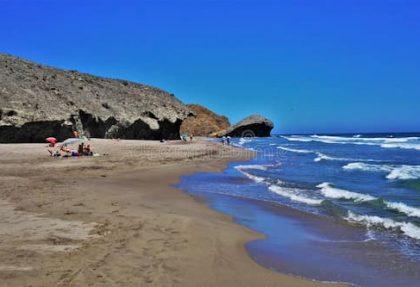 Mejores playas de Almería para ir con niños