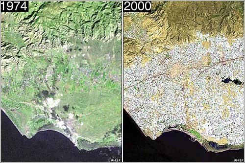 antes y despues invernaderos de almeria