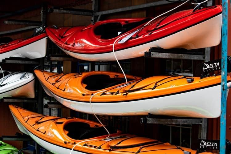 almacenar kayak