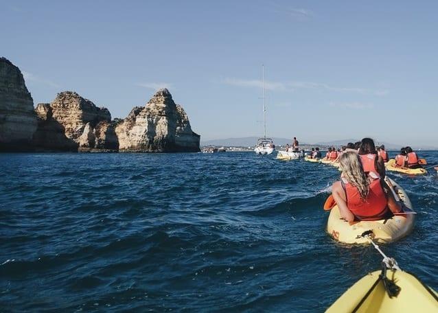 Errores que debes evitar al hacer kayak