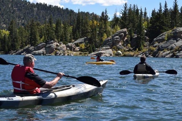 seguridad en kayak